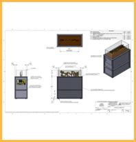 Custom Fireplace Design Plans