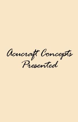 Acucraft Concepts Presented Graphic