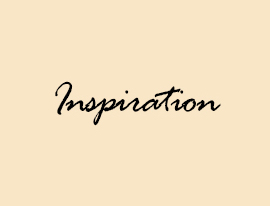 Inspiration Text Graphic