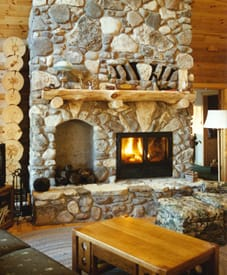 Chalet 20 series fireplace
