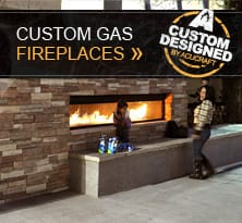 Custom Gas Fireplaces Gallery Thumb