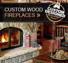 Custom Wood Fireplaces Gallery Thumb