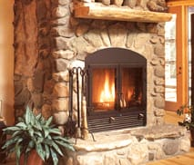 Greatroom Wood Burning Fireplace by Acucraft