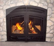 HR36 Wood Burning Fireplace by Acucraft