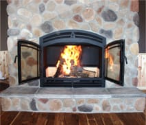 HR44 Wood Burning Fireplace by Acucraft