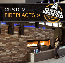 Acucraft Custom Fireplaces by Acucraft