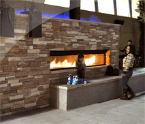Linear Gas Fireplaces Thumb