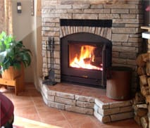 ZMax Wood Burning Fireplace by Acucraft