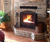Wood burning fireplaces prefab wood fireplace acucraft for Prefab wood burning fireplaces